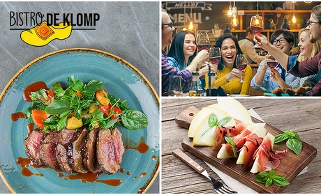 Social Deal: All-You-Can-Eat + dessert bij Bistro De Klomp