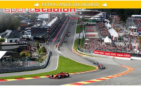 Social Deal: Brons-ticket voor Formule 1 Grand Prix van Belgie