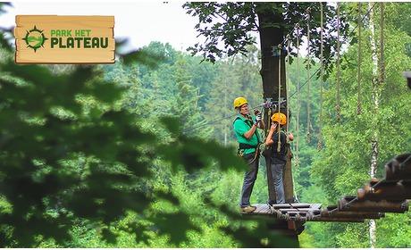 Social Deal: Toegang tot het klimbos Park het Plateau