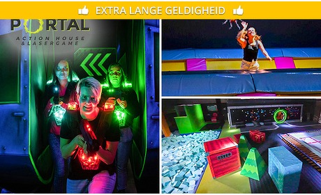 Social Deal: 3 uur action house of 2 heats lasergame