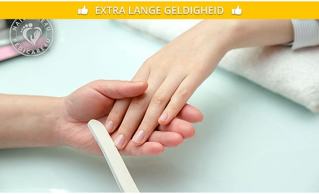 Social Deal: Manicurebehandeling (40, 50 of 60 min)