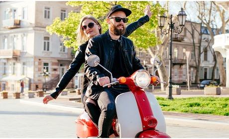 Social Deal: Dagtocht op een elektrische scooter