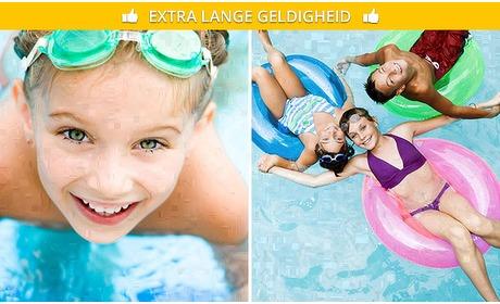 Social Deal: Entree voor Zwembad de Peppel