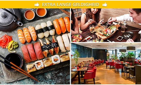 Social Deal: All-You-Can-Eat sushi + Indonesische gerechtjes