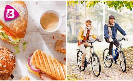 Social Deal: Wandel- of fietsarrangement + lunchpakket