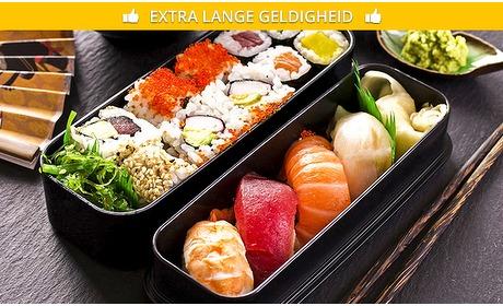 Social Deal: Sushibox (22 of 61 stuks) van Sushi Call