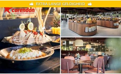 Social Deal: All-You-Can-Eat & Drink (2,5 uur) bij Corendon