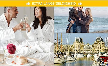 Social Deal: Weekend of midweek Oostende (4 personen)