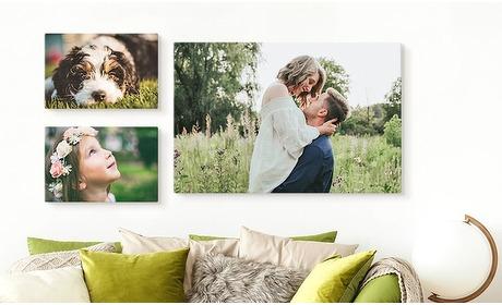 Groupon: Jouw foto op een canvas