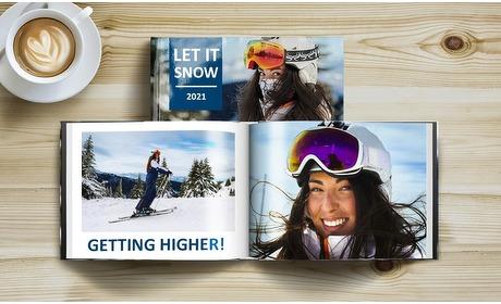 Groupon: Fotoboek met fotokaft op A4 of A5