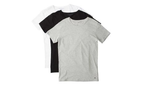 Groupon: Set van 3 T-shirts Tommy Hilfiger