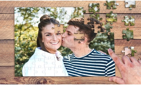 Groupon: Jouw foto op een puzzel