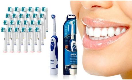 Groupon: Oral-B borstelset met compatibele borstels