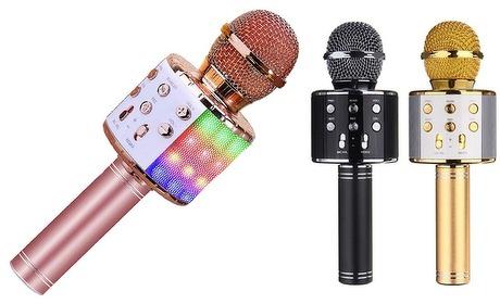 Groupon: Bluetooth karaoke-microfoon