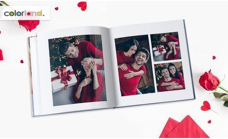 Groupon: Vierkant klassiek fotoboek