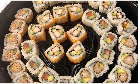 Groupon: Afhalen: sushibox naar keuze