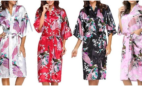 Groupon: Kamerjas in kimono-stijl