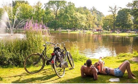 Groupon: Natuur in Amsterdam: Superior tweepersoonskamer