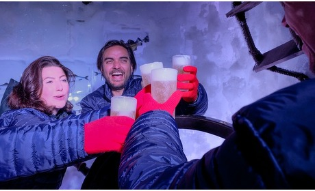 Groupon: Icebar A'dam: entree + 3 drankjes