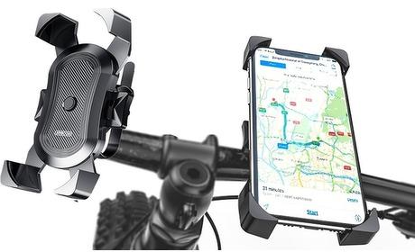 Groupon: Telefoonhouder voor op de fiets