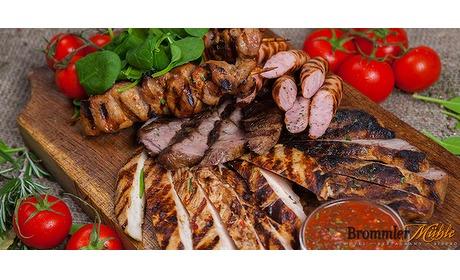Wowdeal: Grillplatte of 3-gangen diner bij Brommler Mhle