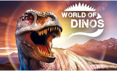 Groupon: Entree World of Dinos