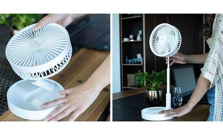 Wowdeal: Avanca Verstelbare Ventilator - 4 Standen