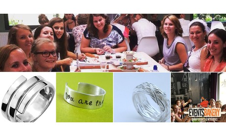 Wowdeal: Workshop zilveren ring maken bij EventsBakery
