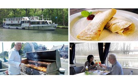 Wowdeal: Boottocht met barbecue of pannenkoek op Passagierschip Zander