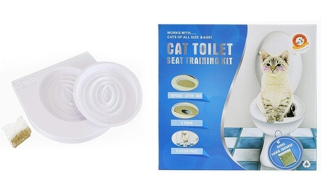 Groupon: Kattentoilet kit