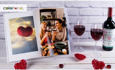 Groupon: A4-fotoboek met harde kaft