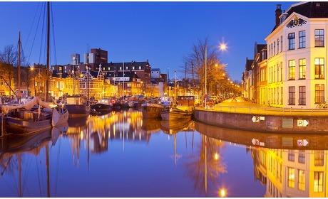 Groupon: Groningen: tweepersoonskamer met ontbijt vlakbij de Grote Markt
