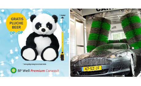 Wowdeal: 5 rittenkaart platinum Carwash bij BP Well (incl. gratis beer)