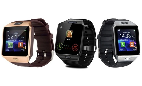 Groupon: Smartwatch met HD-camera