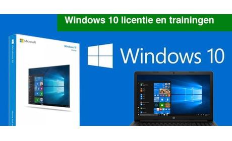 Wowdeal: Licentie Windows 10 Pro en online videotrainingen