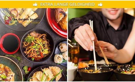Social Deal: All-You-Can-Taste Aziatische tapas (3 uur)