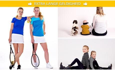Social Deal: Fotoshoot (1 tot 8 personen) + 20 digitale foto's