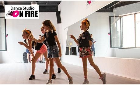 Social Deal: 5- of 10-rittenkaart voor zumba of dance workout