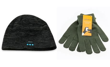 Wowdeal: Bluetooth wintermuts of touchscreen handschoenen (1+1)
