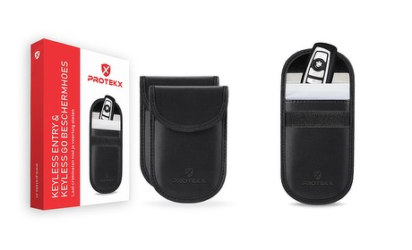 Wowdeal: Duo-pack - Autosleutel RFID anti-diefstal beschermhoezen