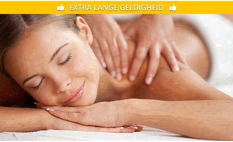 Social Deal: Massage naar keuze (45, 60 of 90 min)