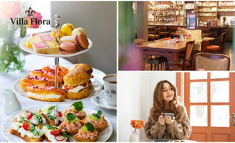 Social Deal: Thuisbezorgd of afhalen: luxe high tea bij Villa Flora