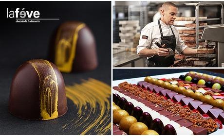 Social Deal: Thuisbezorgd: luxe chocoladepakket van La Feve