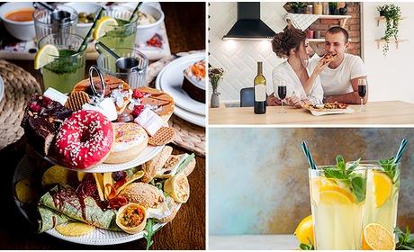 Social Deal: Afhalen: brunch naar keuze + drankje voor 2 personen