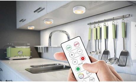Groupon: Ledlampen met afstandsbediening