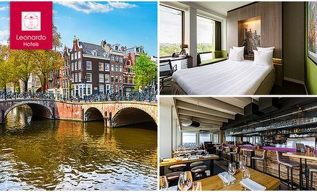 Social Deal: Overnachting + ontbijt voor 2 in Amsterdam