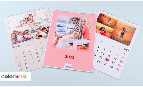 Groupon: Gepersonaliseerde fotokalenders