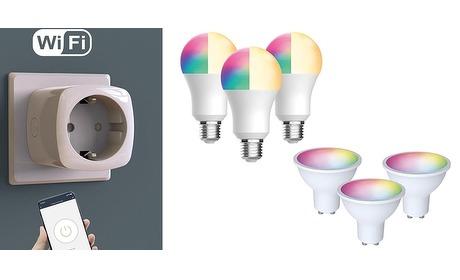 Wowdeal: Set van 3 slimme lampen of stekkers incl. verzending