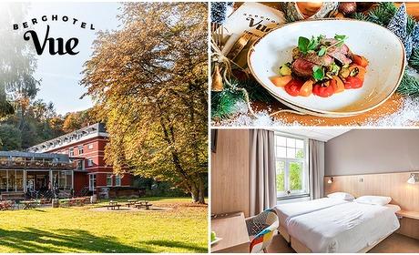 Social Deal: Hotelovernachting(en) + drankje voor 2 bij Berghotel Vue