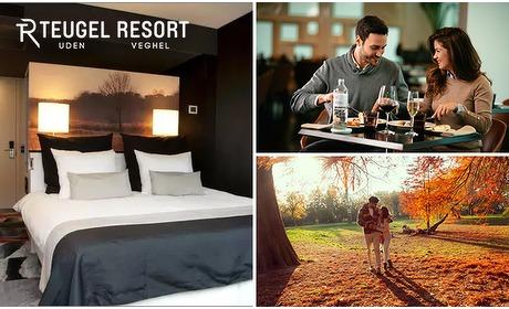 Social Deal: Overnachting + ontbijt voor 2 bij Teugel Resort Uden